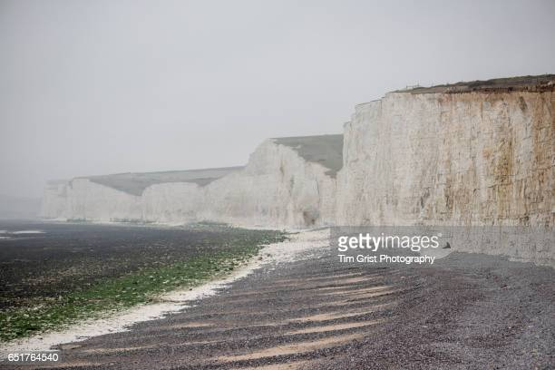 Sea Fog at the Seven Sisters Cliffs