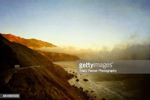 Sea Fog on the Pacific Coast Highway