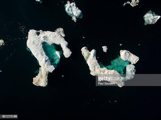 Sea Ice in Wager Bay, Nunavut, Canada