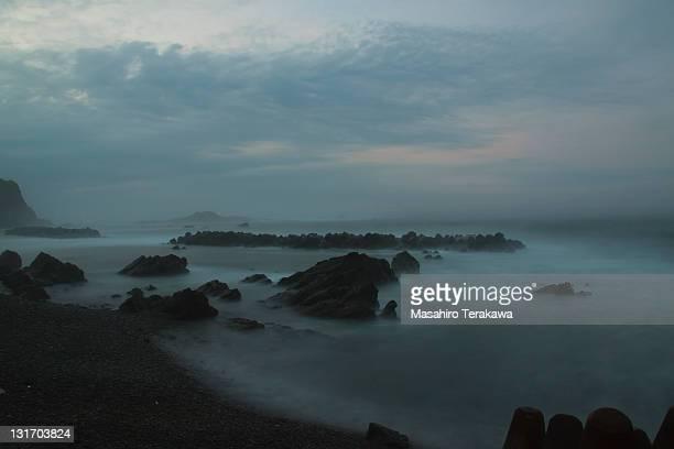 Sea in morning