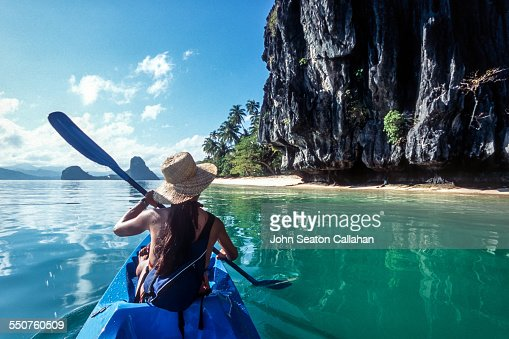 Sea Kayaking : Stock Photo