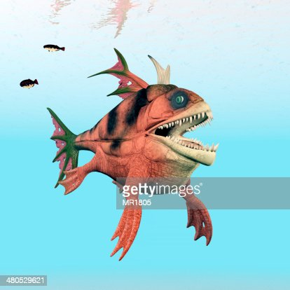 Sea Monster : Stock Photo