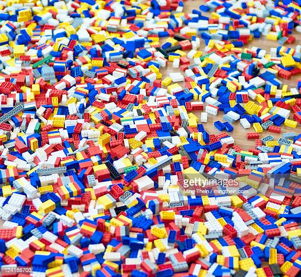 Sea of building blocks