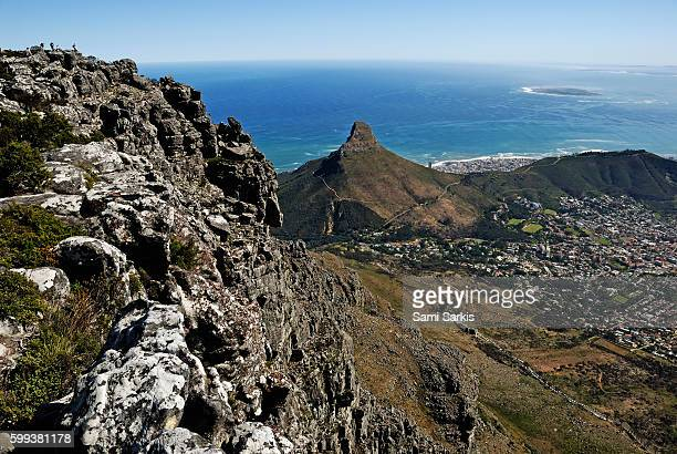 Sea Point from Table Mountain, Cape Town, Western Cape Province, South Africa