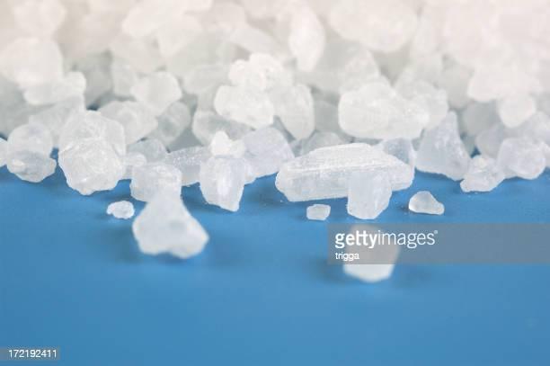 Cristaux de sel de mer