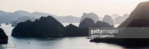 Sea stacks in Halong Bay, Halong Bay, Vietnam