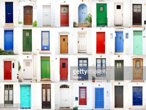 Sea village doors