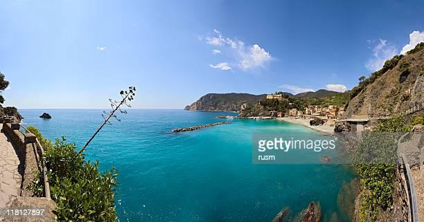 village de panorama, Cinque Terre, Italie