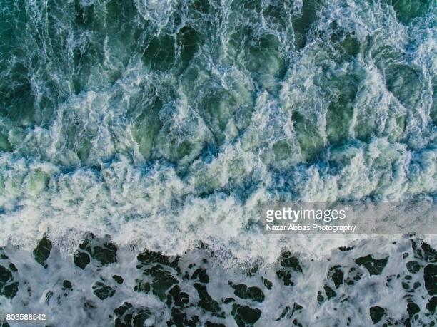 Sea Wave Pattern.