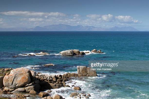 Sea with rocks near Simonstown, Western Cape