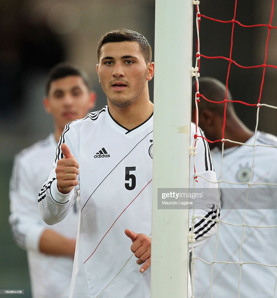 Sead Kolasinac of Germany during U20 International Friendly match between Italy and Germany at Stadio Cosimo Puttilli on February 6, 2013 in Barletta, Italy.