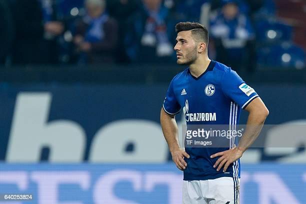 Sead Kolasinac of Schalke disappointed during the Bundesliga match between FC Schalke 04 and Eintracht Frankfurt at VeltinsArena on January 27 2017...