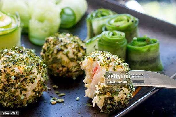 Seafood Cheese balls