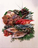 Seafood gathering