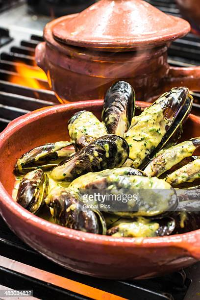 Seafood -  Mussels with creamy sauce
