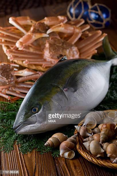 Seafood of Toyama bay