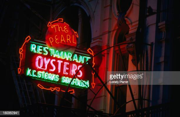 Seafood restaurant on Canal Street in New Orleans.