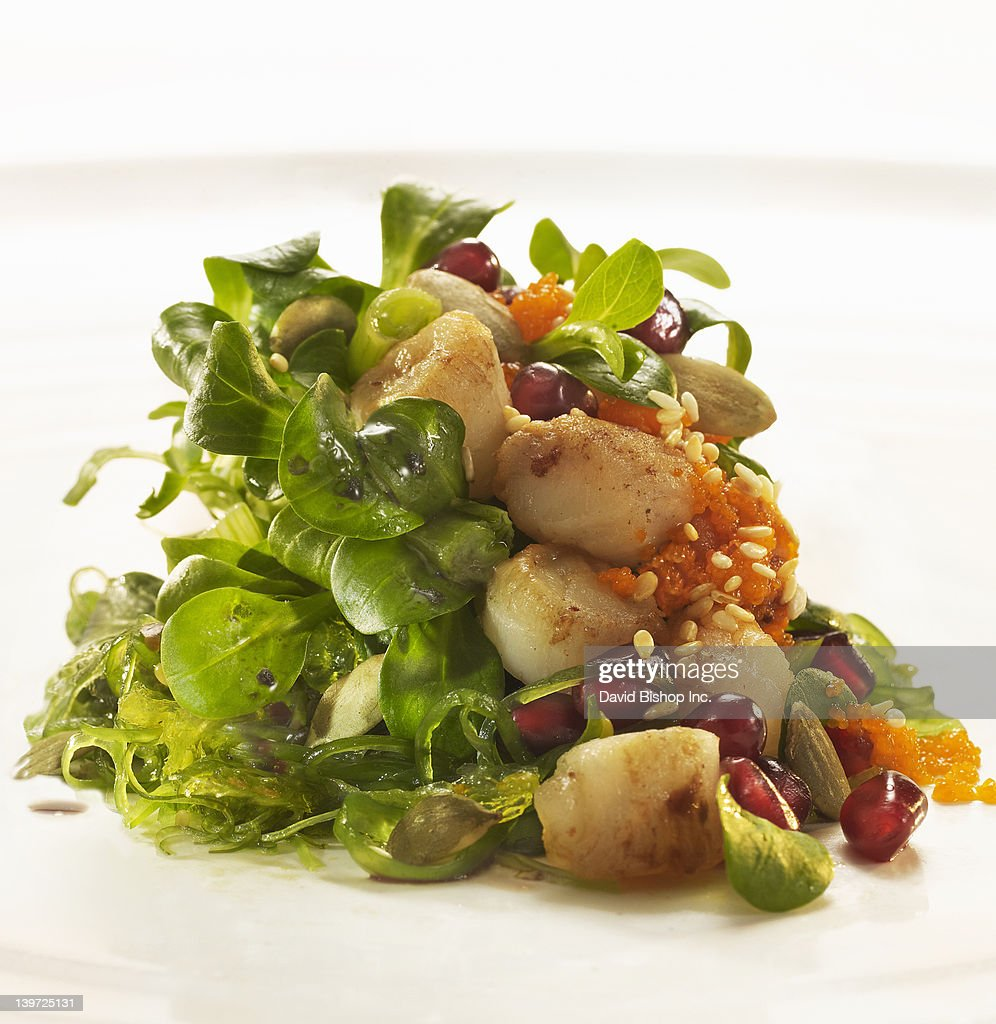 Seafood Salad : Stock Photo