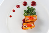 Seafood sweet potato,kaiseki