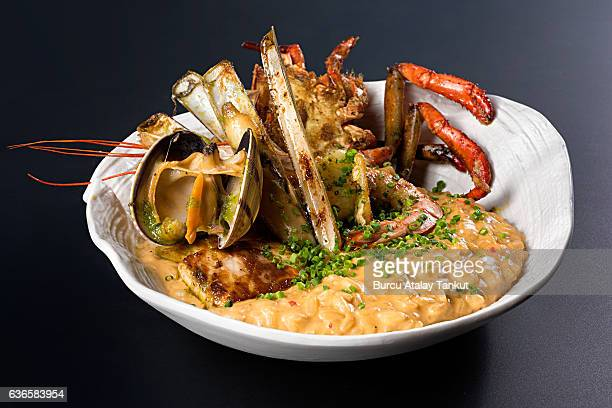 Seafood with Risotto