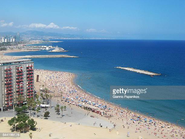 Seafront of Barcelona
