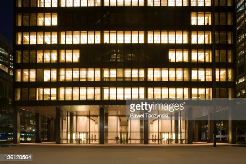 Seagram Building, icon of modernism : Stock Photo