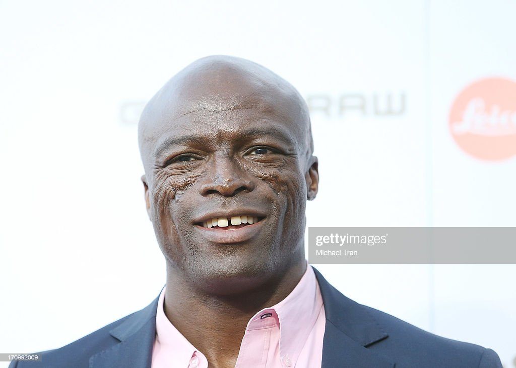 Seal arrives at the grand opening of the Leica Store Los Angeles held on June 20, 2013 in Los Angeles, California.