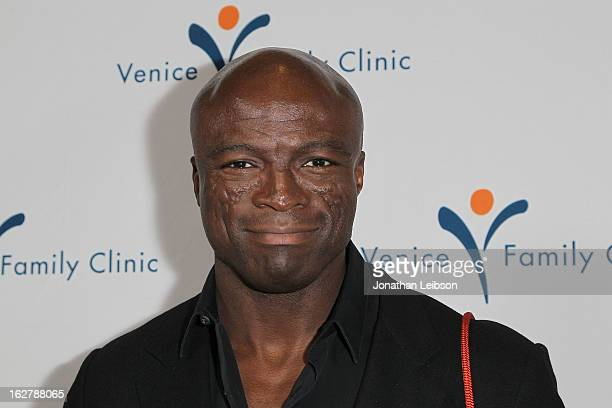 Seal attends the Silver Circle Gala at the Beverly Wilshire Four Seasons Hotel on February 26 2013 in Beverly Hills California