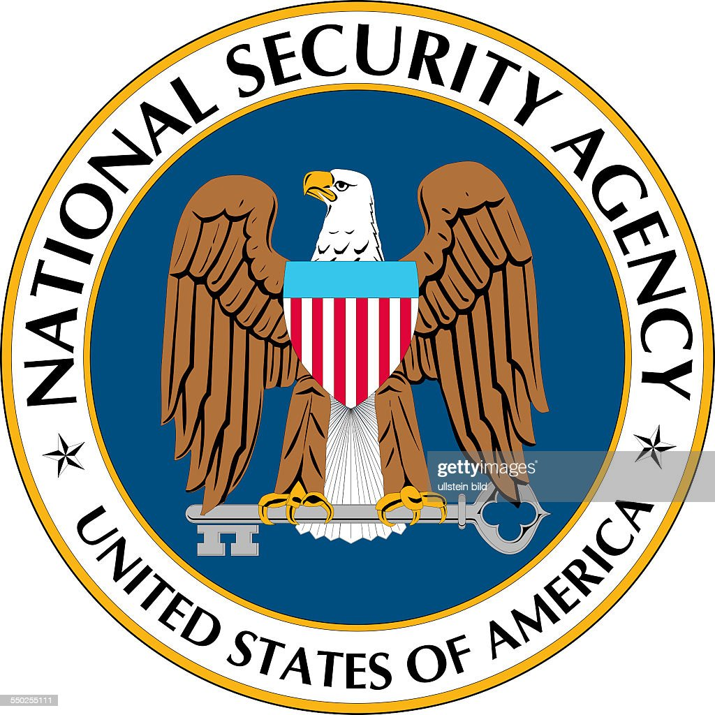 Seal of the National Security Agency NSA of the United States of America