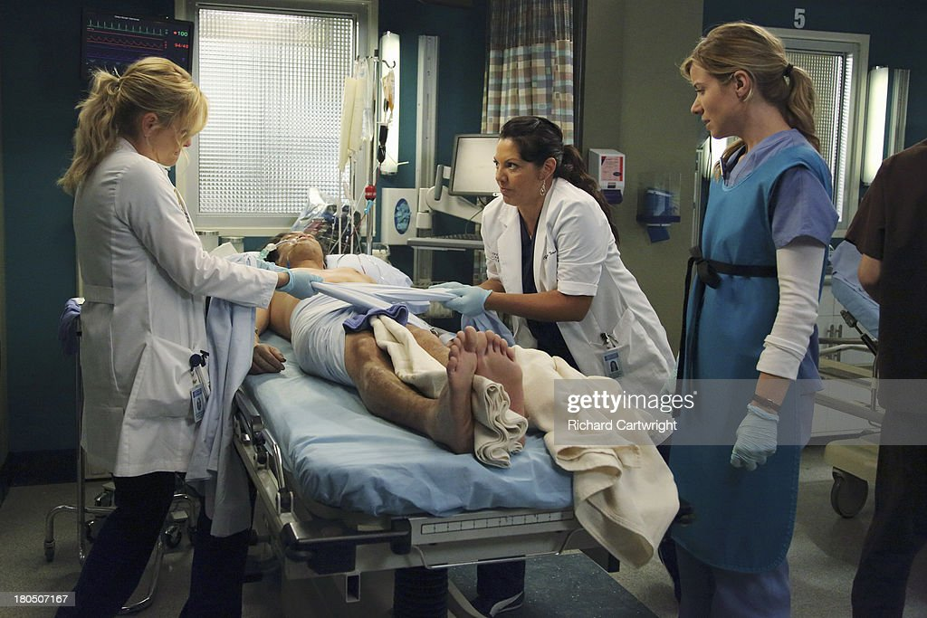 S ANATOMY - 'Seal Our Fate' - 'Grey's Anatomy' returns for its monumental tenth season with a two-hour event, THURSDAY, SEPTEMBER 26 (9:00-11:00 p.m., ET) on the ABC Television Network. In the first hour, 'Seal Our Fate' (9:00-10:00 p.m.), the Grey Sloan Memorial Hospital doctors are faced with the devastation left by the storm. A giant mudslide in Seattle injures a group of first responders and citizens, causing the already shorthanded ER to spring into action. Meanwhile, Meredith is faced with a tough decision that will affect the life of a loved one, Callie is rocked by the reality of Arizona's infidelity, and Richard's life is in extreme danger. JESSICA