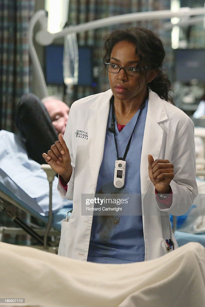 S ANATOMY - 'Seal Our Fate' - 'Grey's Anatomy' returns for its monumental tenth season with a two-hour event, THURSDAY, SEPTEMBER 26 (9:00-11:00 p.m., ET) on the ABC Television Network. In the first hour, 'Seal Our Fate' (9:00-10:00 p.m.), the Grey Sloan Memorial Hospital doctors are faced with the devastation left by the storm. A giant mudslide in Seattle injures a group of first responders and citizens, causing the already shorthanded ER to spring into action. Meanwhile, Meredith is faced with a tough decision that will affect the life of a loved one, Callie is rocked by the reality of Arizona's infidelity, and Richard's life is in extreme danger. JERRIKA