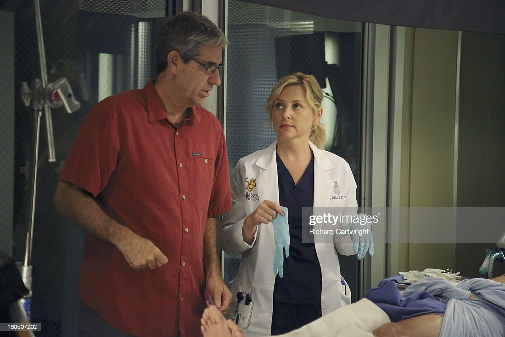 S ANATOMY - 'Seal Our Fate' - 'Grey's Anatomy' returns for its monumental tenth season with a two-hour event, THURSDAY, SEPTEMBER 26 (9:00-11:00 p.m., ET) on the ABC Television Network. In the first hour, 'Seal Our Fate' (9:00-10:00 p.m.), the Grey Sloan Memorial Hospital doctors are faced with the devastation left by the storm. A giant mudslide in Seattle injures a group of first responders and citizens, causing the already shorthanded ER to spring into action. Meanwhile, Meredith is faced with a tough decision that will affect the life of a loved one, Callie is rocked by the reality of Arizona's infidelity, and Richard's life is in extreme danger. ROB CORN (DIRECTOR), JESSICA
