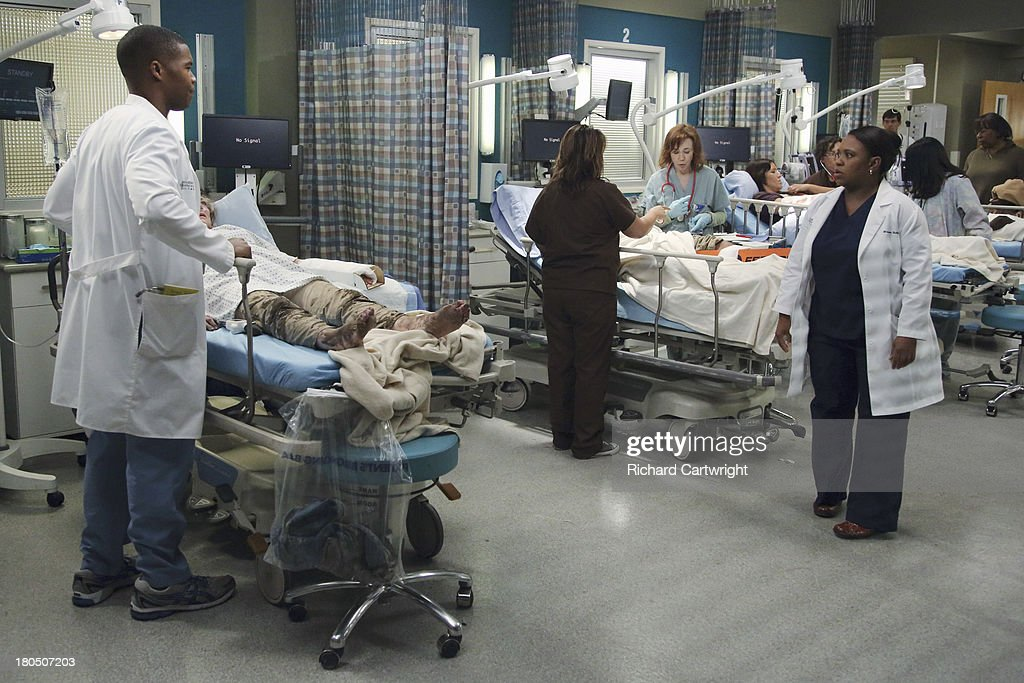 ANATOMY - 'Seal Our Fate' - 'Grey's Anatomy' returns for its monumental tenth season with a two-hour event, THURSDAY, SEPTEMBER 26 (9:00-11:00 p.m., ET) on the ABC Television Network. In the first hour, 'Seal Our Fate' (9:00-10:00 p.m.), the Grey Sloan Memorial Hospital doctors are faced with the devastation left by the storm. A giant mudslide in Seattle injures a group of first responders and citizens, causing the already shorthanded ER to spring into action. Meanwhile, Meredith is faced with a tough decision that will affect the life of a loved one, Callie is rocked by the reality of Arizona's infidelity, and Richard's life is in extreme danger. WILSON