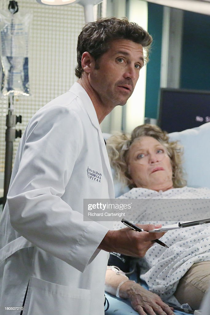 S ANATOMY - 'Seal Our Fate' - 'Grey's Anatomy' returns for its monumental tenth season with a two-hour event, THURSDAY, SEPTEMBER 26 (9:00-11:00 p.m., ET) on the ABC Television Network. In the first hour, 'Seal Our Fate' (9:00-10:00 p.m.), the Grey Sloan Memorial Hospital doctors are faced with the devastation left by the storm. A giant mudslide in Seattle injures a group of first responders and citizens, causing the already shorthanded ER to spring into action. Meanwhile, Meredith is faced with a tough decision that will affect the life of a loved one, Callie is rocked by the reality of Arizona's infidelity, and Richard's life is in extreme danger. PATRICK