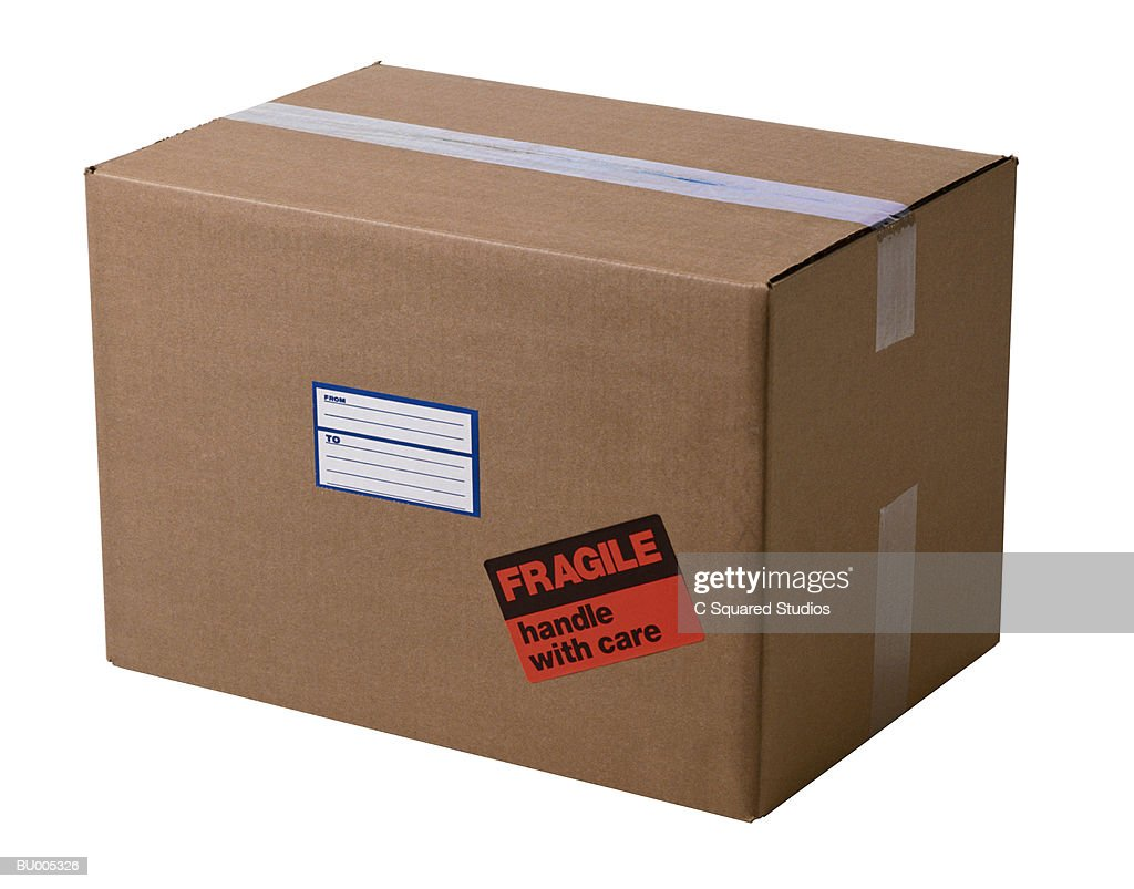 Sealed Box : Stock Photo