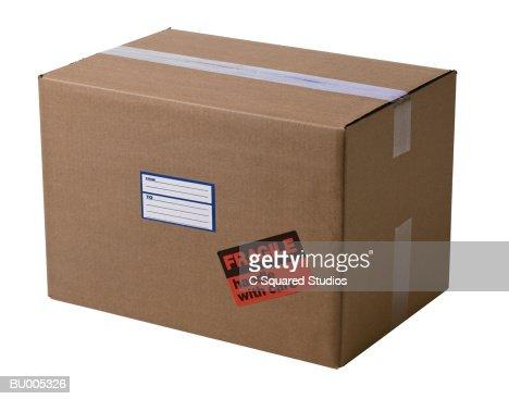 Sealed Box : Stock Photo