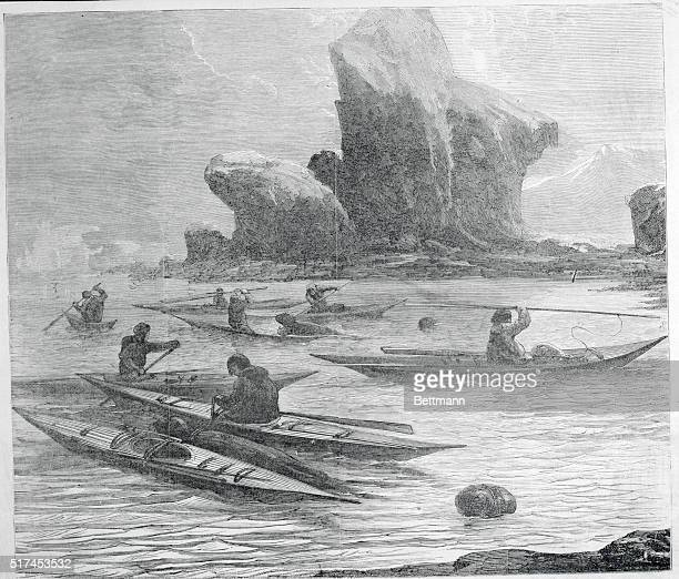 Sealhunting as practiced by the Norwegians