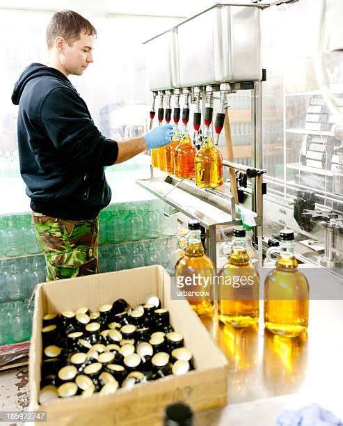 Sealing cider bottles