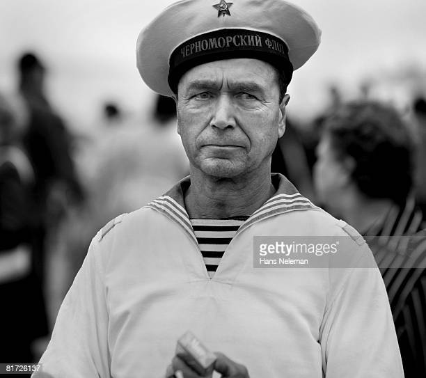 Seaman, portrait (B&W)