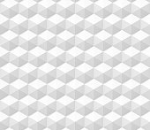 endless abstract 3d background made of hexagon structures in white