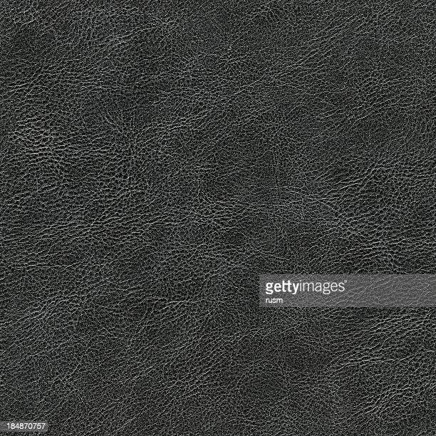 Seamless dark leather background