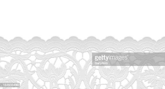 seamless edge-lace doily