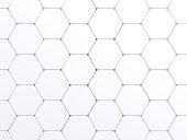 green color tone Hexagonal tiles.