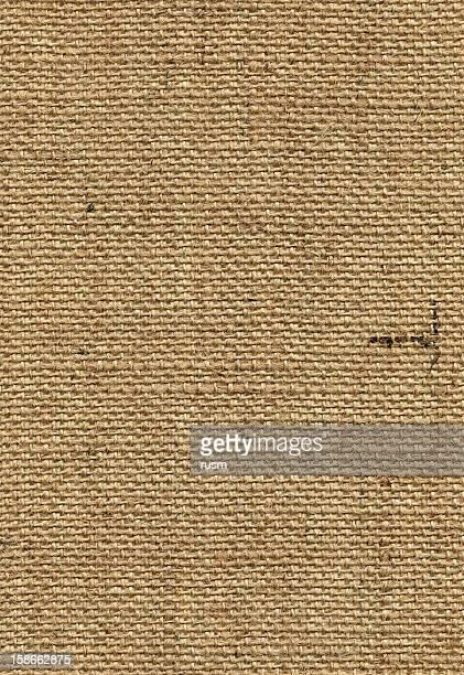 Nahtlose sackcloth Hintergrund