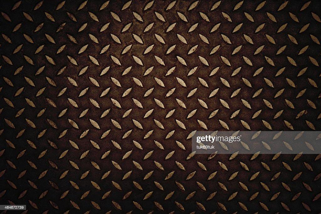seamless steel diamond plate stock photo