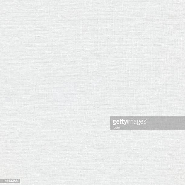 Seamless white linen canvas background