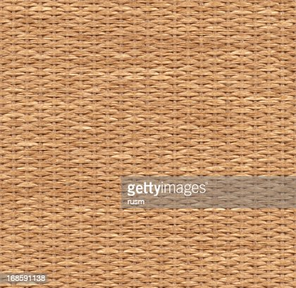 Seamless wicker background