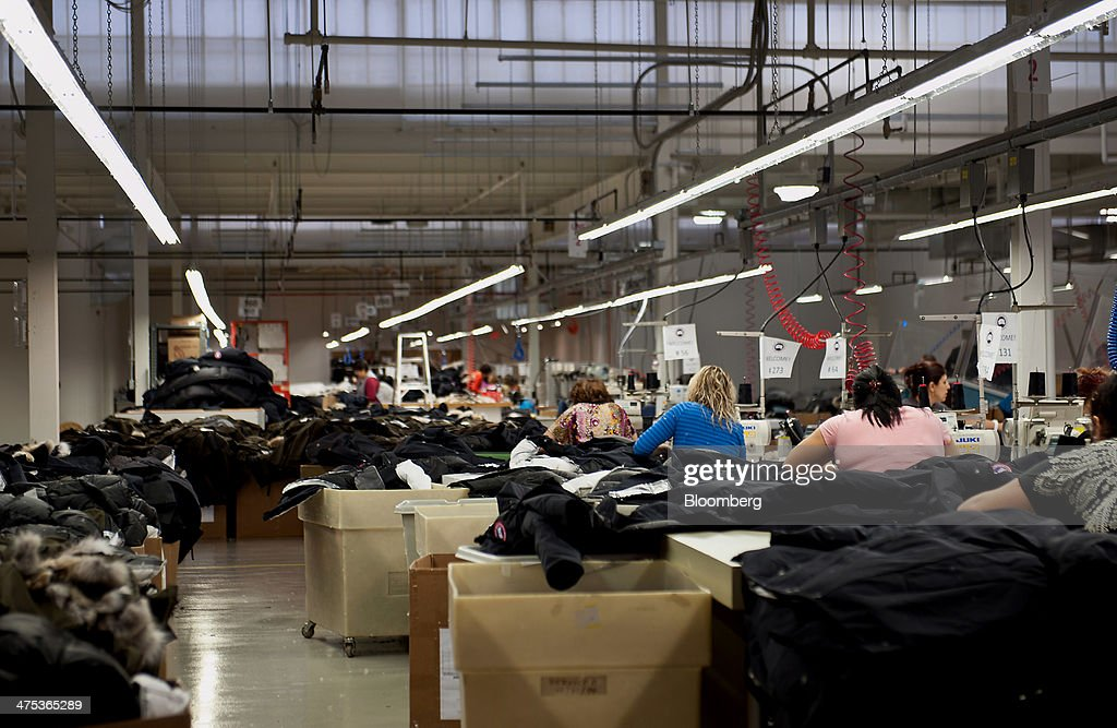 Canada Goose kids outlet price - Inside The Canada Goose Clothing Production Facility Photos and ...