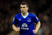 Seamus Coleman of Everton during the Premier League match between Norwich City and Everton at Carrow Road stadium on December 12 2015 in Norwich...