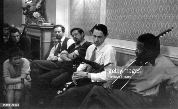Seamus Ennis and Fitzroy Coleman Enterprise Public House Long Acre London late 1950searly 1960s Folk club session